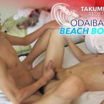 ODAIBA BEACH BOYZ: TAKUMI RIDES RAW - Japanese gay sex